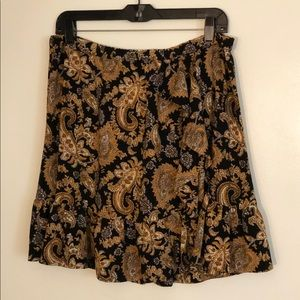 MICHAEL Michael Kors Skirts - Women's Paisley Crepe Skirt by Michael Kors